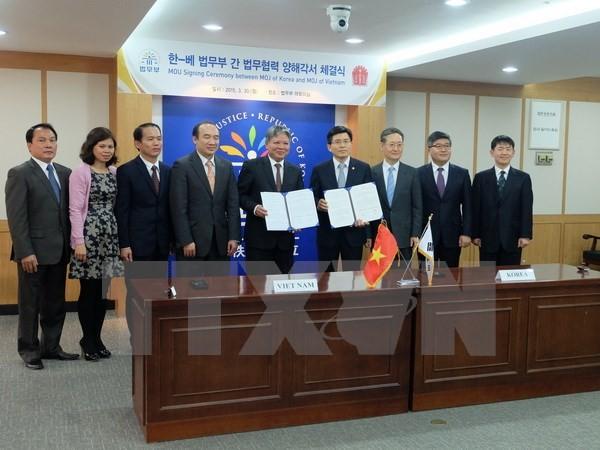 Tăng cường hợp tác tư pháp giữa Việt Nam và Hàn Quốc  - ảnh 1