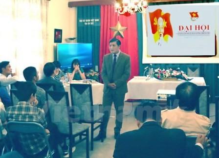 Đoàn Thanh niên Cộng sản Hồ chí Minh tại Cộng hòa Czech tổ chức Đại hội - ảnh 1