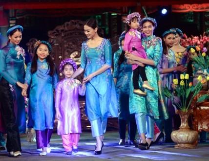 Festival áo dài Hà Nội năm 2016 diễn ra vào trung tuần tháng 10  - ảnh 1