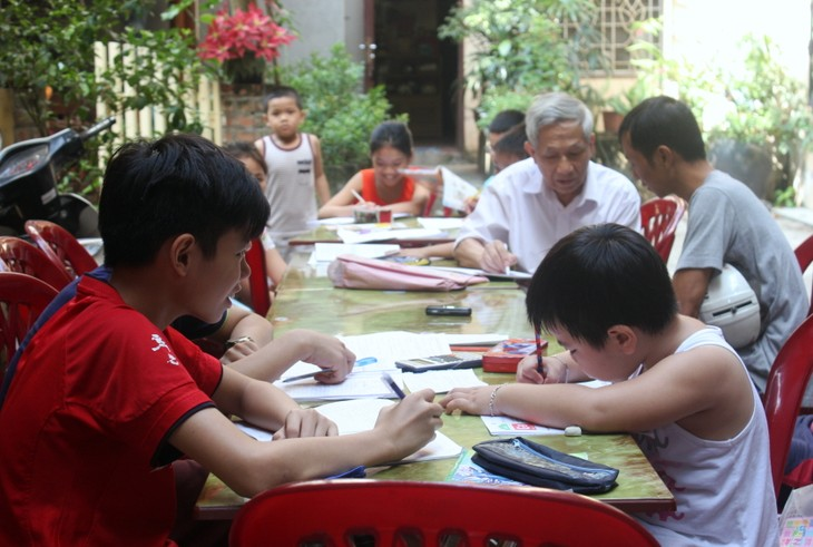 Thầy giáo Nguyễn Hữu Trà và lớp học Hướng thiện - ảnh 1