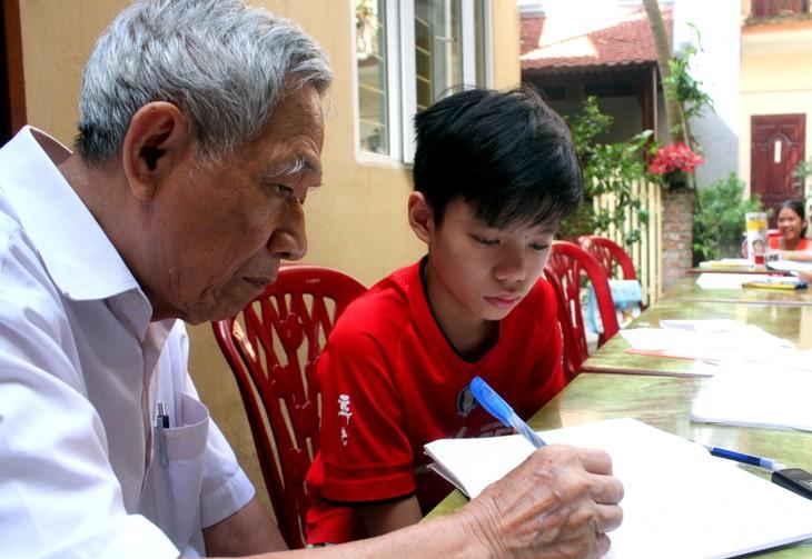 Thầy giáo Nguyễn Hữu Trà và lớp học Hướng thiện - ảnh 2