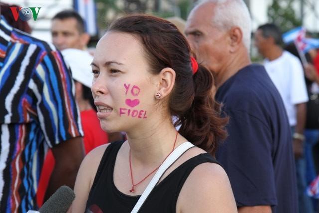 Hình ảnh lễ truy điệu Lãnh tụ Cuba Fidel Castro đầy cảm động - ảnh 8