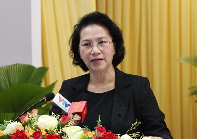 Chủ tịch Quốc hội tiếp xúc cử tri tại quận Ninh Kiều, Thành phố Cần Thơ - ảnh 1