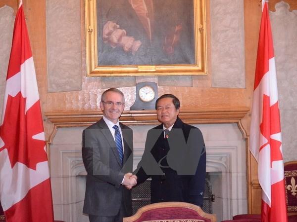 Đưa quan hệ Việt Nam - Canada phát triển thực chất, đi vào chiều sâu  - ảnh 1