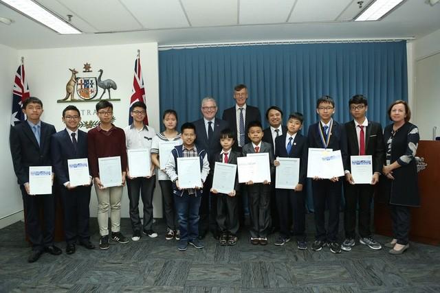 Thí sinh Việt Nam đoạt giải cao trong cuộc thi Toán học Australia  - ảnh 1