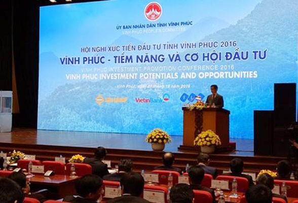 Thủ tướng Nguyễn Xuân Phúc dự Hội nghị xúc tiến đầu tư tỉnh Vĩnh Phúc năm 2016 - ảnh 1