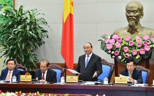 Hội nghị Chính phủ với các địa phương - ảnh 1