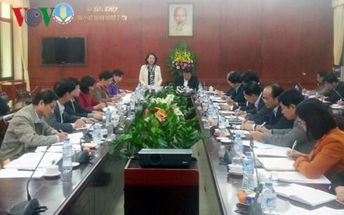 Đoàn kiểm tra của Bộ Chính trị làm việc với Ban Cán sự Đảng Bộ Nông nghiệp và Phát triển nông thôn  - ảnh 1
