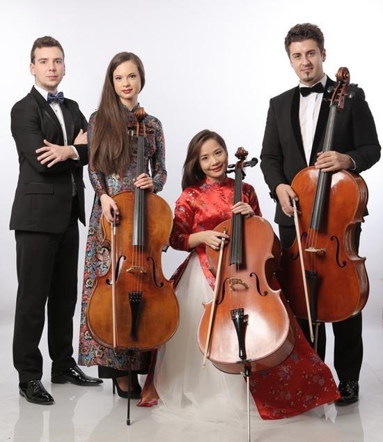 """Nghệ sĩ Hoài Xuân và các nghệ sĩ Romania với """"Violoncello Concert"""