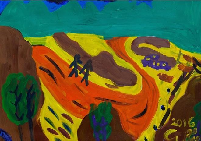 """Triển lãm """"Chạm"""": Cách giao tiếp qua nghệ thuật của trẻ tự kỷ - ảnh 2"""