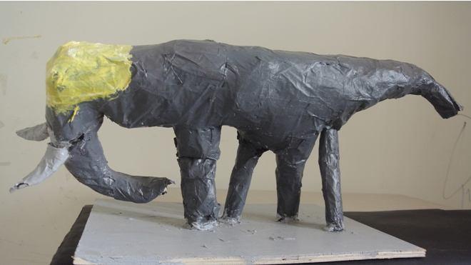 """Triển lãm """"Chạm"""": Cách giao tiếp qua nghệ thuật của trẻ tự kỷ - ảnh 4"""