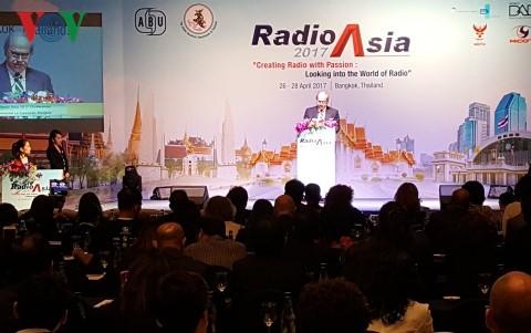 Khai mạc Hội nghị phát thanh châu Á 2017 - ảnh 1
