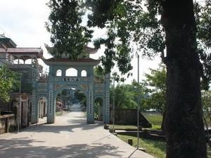 หมู่บ้านจั่ว- หมู่บ้านแห่งบทกลอนของเวียดนาม - ảnh 1