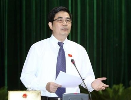 รัฐสภาตั้งกระทู้ถามรัฐมนตรีเกษตรและพัฒนาชนบทเป็นคนแรก - ảnh 1