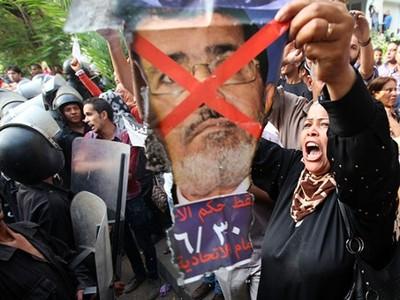 อียิปต์ภายหลัง๑ ปีภายใต้การบริหารประเทศของประธานาธิบดี โมฮัมเหม็ด มอร์ซี - ảnh 1