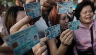 คนไทยไปใช้สิทธิ์เลือกตั้งในอัตราต่ำ - ảnh 1