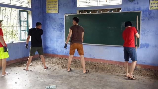 Du học Việt tại Nga xây công trình, tu bổ trường học ở bản Rào Con, Quảng Bình - ảnh 3