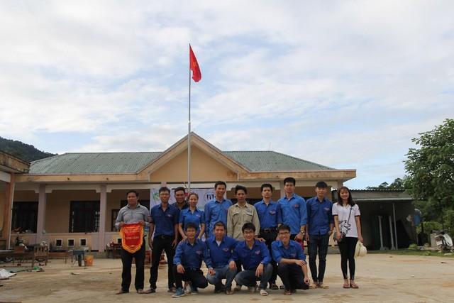 Du học Việt tại Nga xây công trình, tu bổ trường học ở bản Rào Con, Quảng Bình - ảnh 9