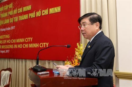 Thành phố Hồ Chí Minh kết nối kêu gọi đầu tư nước ngoài  - ảnh 1