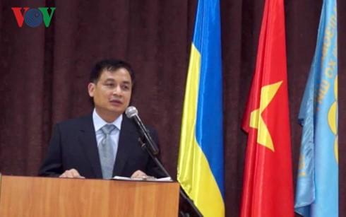 Khai giảng lớp học tiếng Việt tại thủ đô Kiev (Ukraine) - ảnh 2