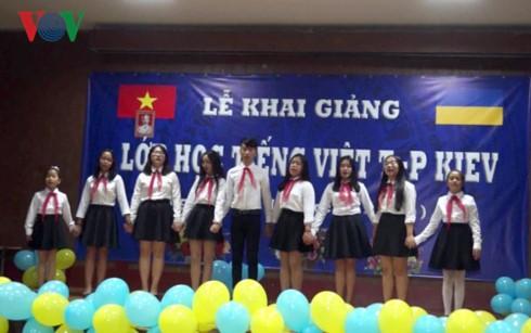 Khai giảng lớp học tiếng Việt tại thủ đô Kiev (Ukraine) - ảnh 4