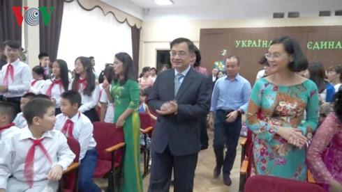 Khai giảng lớp học tiếng Việt tại thủ đô Kiev (Ukraine) - ảnh 1