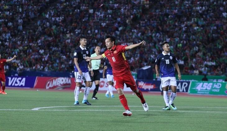 Vòng loại Asian Cup 2019: Việt Nam giành thắng lợi trước Campuchia - ảnh 1