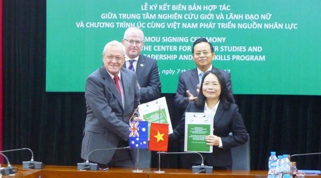 Việt Nam- Australia hợp tác thúc đẩy bình đẳng giới - ảnh 1