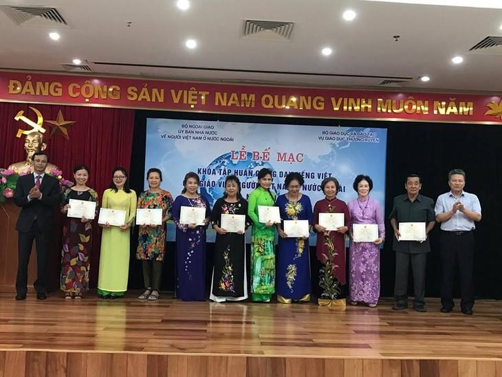Để giữ gìn tiếng Việt ở nơi xa Tổ quốc - ảnh 1