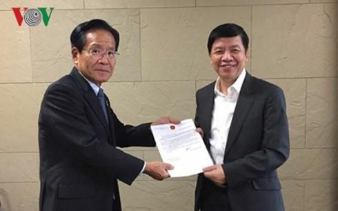Đại sứ Việt Nam tại Nhật Bản hỗ trợ thực tập sinh điều trị bệnh - ảnh 3