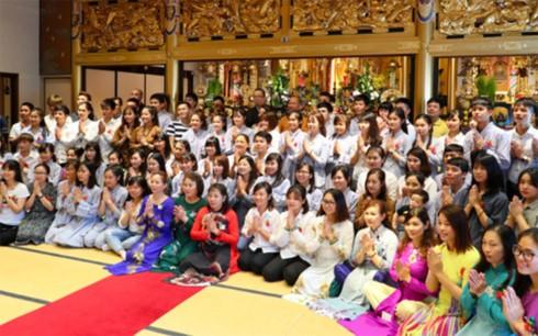 Phật tử Việt Nam tại Kitakyushu, Nhật Bản có nơi sinh hoạt tâm linh mới - ảnh 5