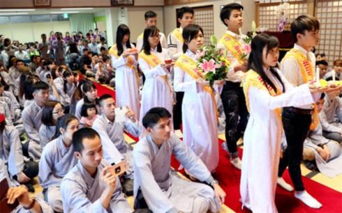 Phật tử Việt Nam tại Kitakyushu, Nhật Bản có nơi sinh hoạt tâm linh mới - ảnh 2
