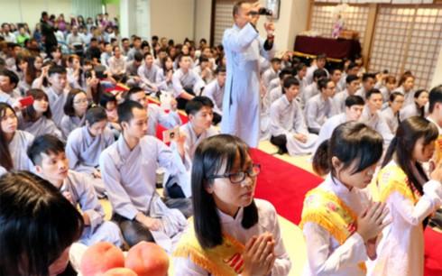 Phật tử Việt Nam tại Kitakyushu, Nhật Bản có nơi sinh hoạt tâm linh mới - ảnh 1