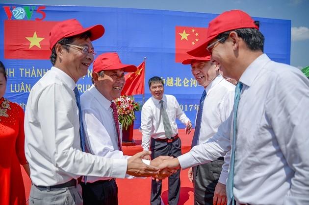 Phó Thủ tướng Trương Hoà Bình dự lễ khánh thành câu Bắc Luân II Việt - Trung - ảnh 3