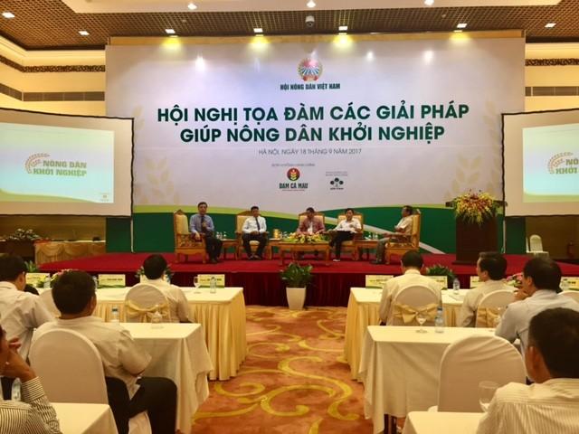 Tọa đàm về các giải pháp giúp nông dân khởi nghiệp  - ảnh 1