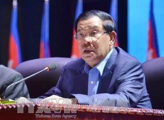 Thủ tướng Hun Sen ghi nhận sự phát triển quan hệ hợp tác hữu nghị Campuchia-Việt Nam - ảnh 1