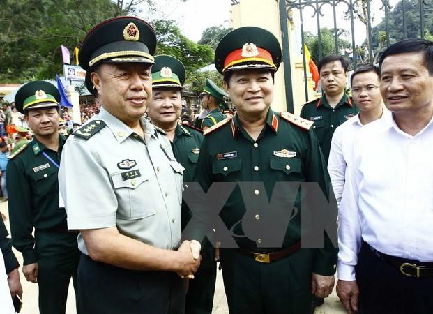 Hợp tác quốc phòng góp phần ổn định, phát triển khu vực biên giới Việt Nam, Trung Quốc  - ảnh 2