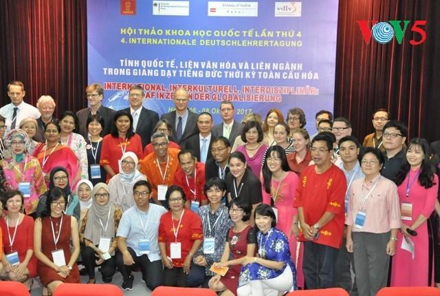 Hội thảo quốc tế về giảng dạy tiếng Đức thời kỳ toàn cầu hóa - ảnh 1