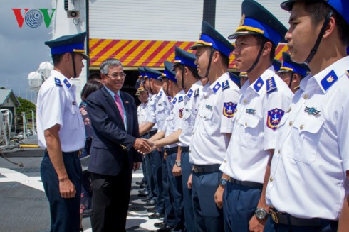 Đại sứ Việt Nam tại Hoa Kỳ thăm Bộ Chỉ huy Thái Bình Dương và bang Hawaii - ảnh 2