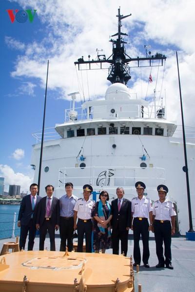 Đại sứ Việt Nam tại Hoa Kỳ thăm Bộ Chỉ huy Thái Bình Dương và bang Hawaii - ảnh 4