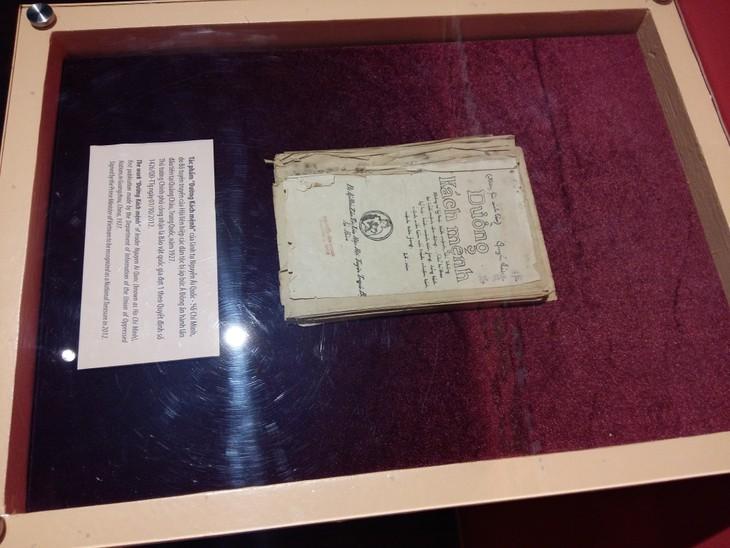 """Bảo tàng lịch sử quốc gia lần đầu tiên trưng bày bảo vật quốc gia tác phẩm """"Đường Kách mệnh"""" - ảnh 2"""