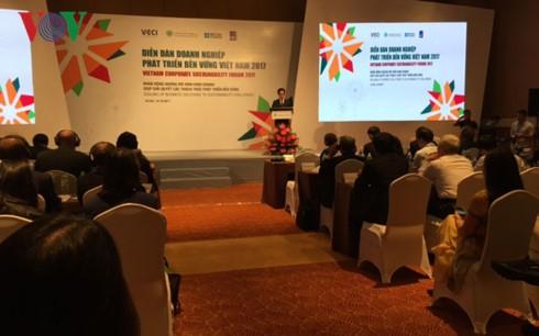Diễn đàn Doanh nghiệp phát triển bền vững Việt Nam 2017 - ảnh 1