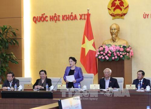 Phiên họp thứ 15 Ủy ban Thường vụ Quốc hội - ảnh 1