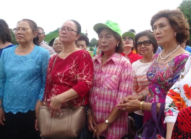 Đoàn cựu giáo viên kiều bào Thái Lan kết thúc hành trình thăm quê hương - ảnh 1