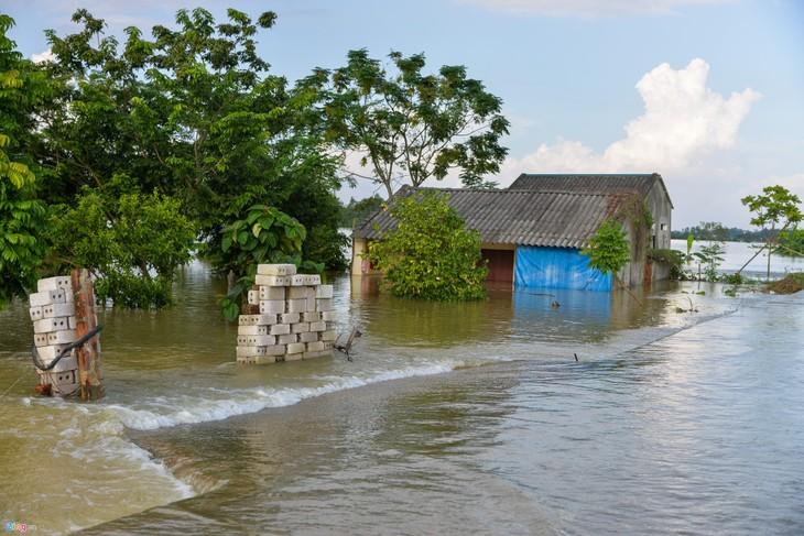 Khẩn trương khắc phục hậu quả mưa lũ - ảnh 1