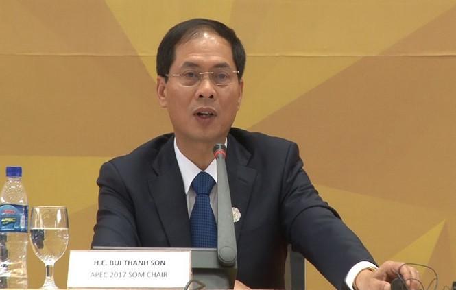 Bế mạc hội nghị tổng kết quan chức cao cấp APEC - ảnh 1