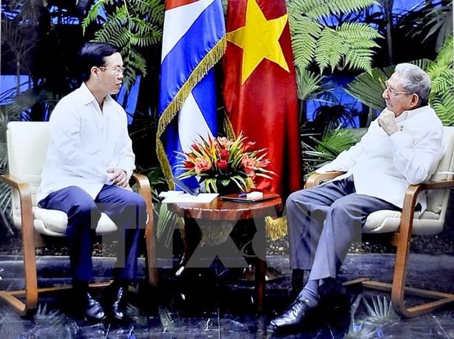 Tăng cường đoàn kết giữa Đảng, Nhà nước và nhân dân Việt Nam - Cuba - ảnh 1