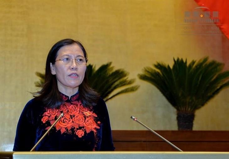 Quốc hội kết thúc phần thảo luận về công tác tư pháp - ảnh 1