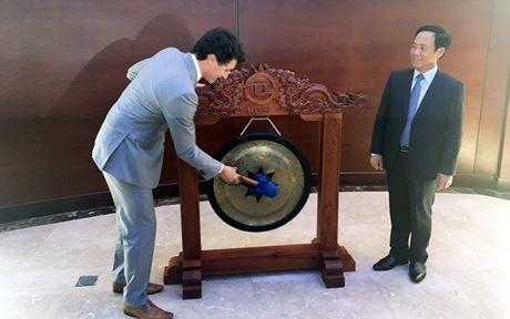 Thủ tướng Canada Justin Trudeau thăm thành phố Hồ Chí Minh - ảnh 1