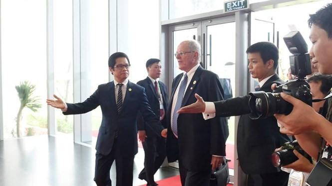 Lãnh đạo các nền kinh tế APEC tham dự và phát biểu tại CEO Summit 2017 - ảnh 1